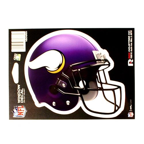 NFL Minnesota Vikings Helmet Decal