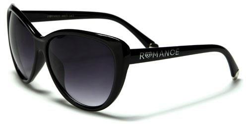 90011 Romance Large Cat Eye Black