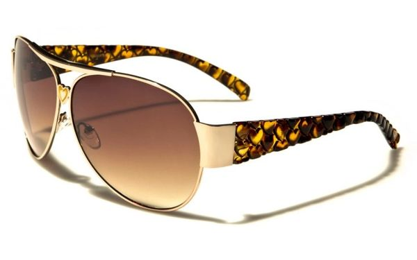 96004 Romance Wide Arm Aviators Tortoise Shell