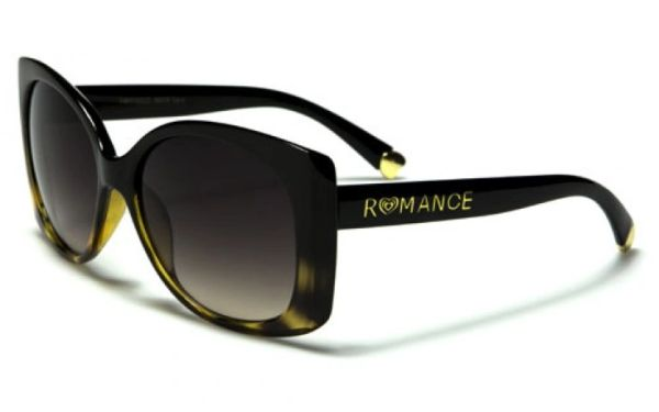 90019 Romance Square Butterfly Black Tortoise Shell