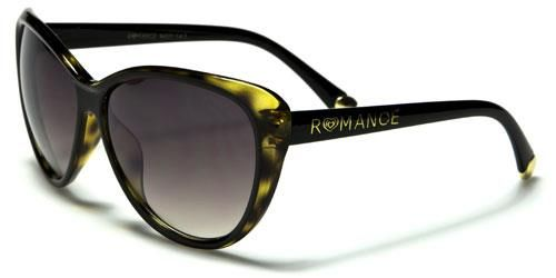 90011 Romance Large Cat Eye Black Tortoise Shell