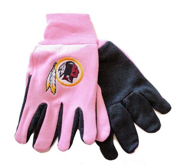 NFL Washington Redskins Sport Utility Gloves Pink