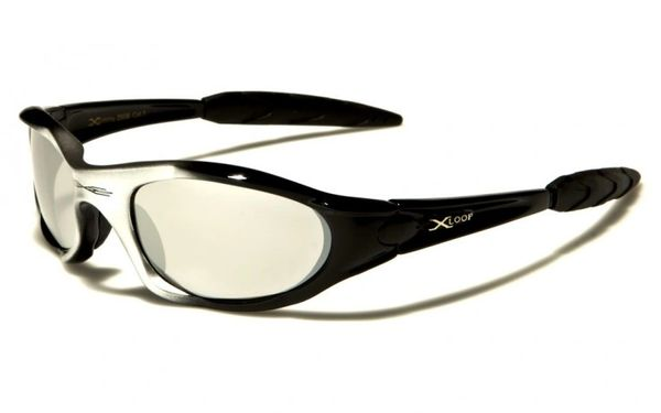2056 XLoop Black and Silver with Mirror Lens