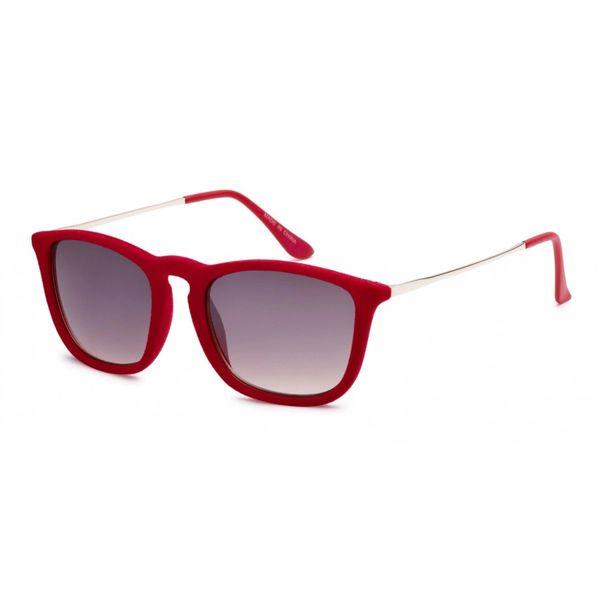 1062 Fuzzy Velvet Retro Red