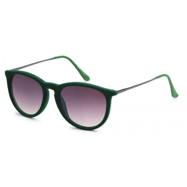 1061 Fuzzy Velvet Retro Green