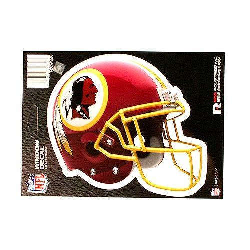 NFL Washington Redskins Helmet Decal