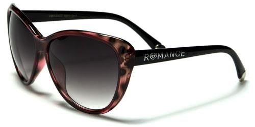 90011 Romance Large Cat Eye Red Tortoise Shell