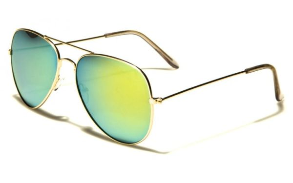 101 Aviator Gold Green