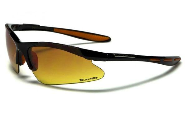 3320 XLoop HD Rimless Black Orange