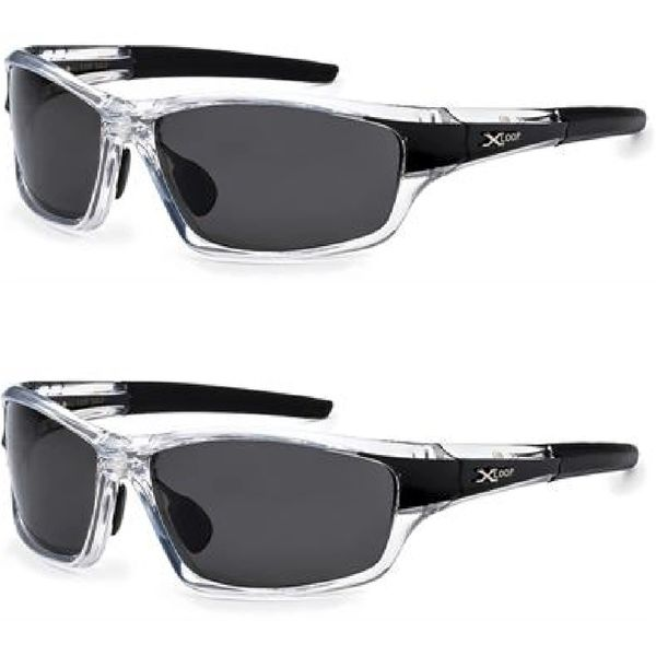 2 Pack 2418 XLoop Polarized Black