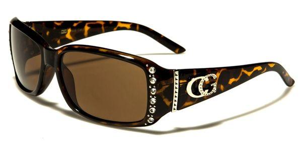 1808 CG Eyewear Rhinestone Tortoise Shell