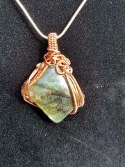 Labradorite and Copper