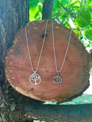 Tree of Life or OM Pendant Necklace