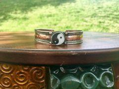 Copper Yin and Yang Bracelet