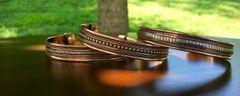 3 Piece Assorted Copper Bracelet W/Magnet