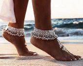 Boho Ankle Bracelet Set