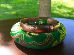 OM Symbol Copper Tibetan Bracelet