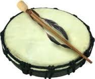 Native American Hand Crafted Drum