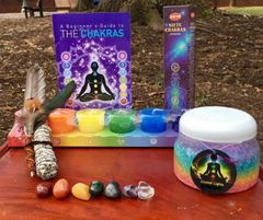 Chakra's For Beginners Meditation Kit