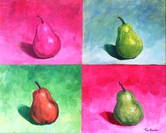 'Pear ja vu' color theory intensive - Tue Oct 16th 1PM - 4PM