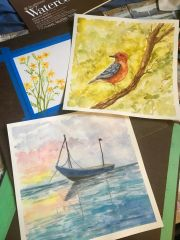 Wonders of Watercolor - DVCLC Spring Session