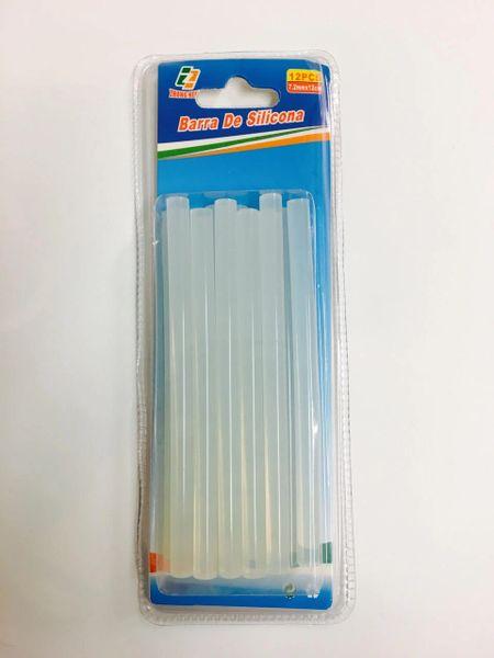 Silicone Glue Sticks 12pc Clear 12cm