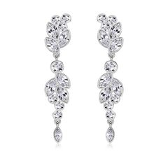 Ouxi Earrings Made With Crystals From Swarovski