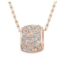 Ouxi Fashionable Alloy Necklace Made With Crystals From Swarovski