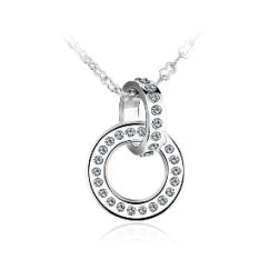 Ouxi Best Friend Beautiful Necklace Made With Crystals From Swarovski