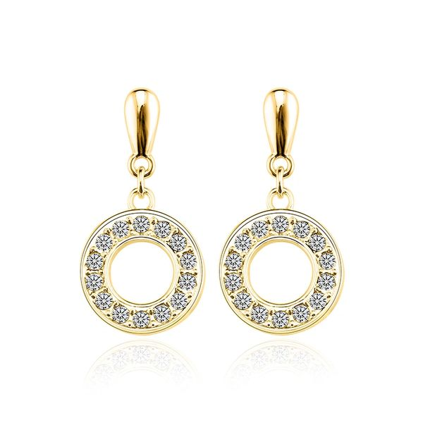 Ouxi Fashion Earrings Made With Crystals From Swarovski