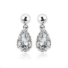 Ouxi Fashion Crystal Earrings Made With Crystals From Swarovski