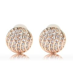Ouxi Clip On Earrings For Non Pierced Ears Made With Crystals from Swarovski