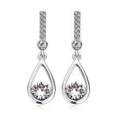 Zena Top Quality Fashion Earrings Made With Crystals From Swarovski
