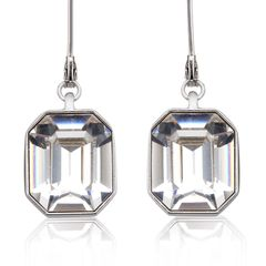 Ouxi Drop Fashion Earrings Made With Crystals From Swarovski