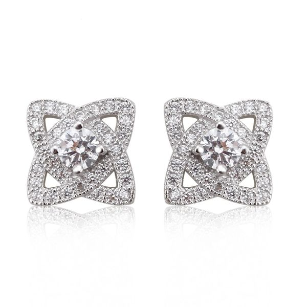 ZENA 925 Sterling Silver Earrings Made With Crystals From Swarovski