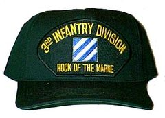 3rd Infantry Division Black Ball Cap