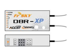 FrSky D8R XP 2.4 Ghz 8 Channel Receiver