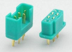 Multiplex (MPX) 6 Pin Connector Set of 3