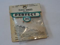 Vintage Perfect Cloth Hinges