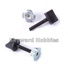 Nylon Wing Bolt with Blind Nut Set of 2 M4 x 22mm