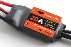 20A BEC Brushless ESC