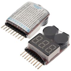 Lipoly Low Voltage Meter and Alarm