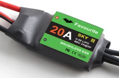20A Multicopter Brushless ESC