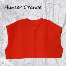 Mackinaw Cape Hunter Orange W/ Zipper