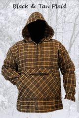 Pathfinder Black and Tan Plaid
