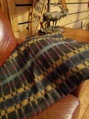 Wool Cabin Blanket 60 x 72