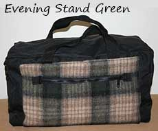 Northwoods Duffle Evening Stand Green