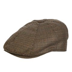 Drivers Cap Houndstooth
