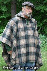 Poncho Evening Stand Green