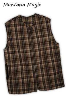 Wool Vest Montana Magic